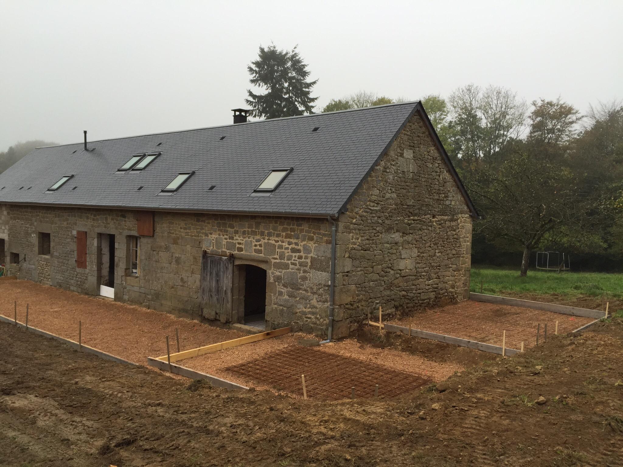 Novembre 2014 maison legast for Couler une dalle beton exterieur
